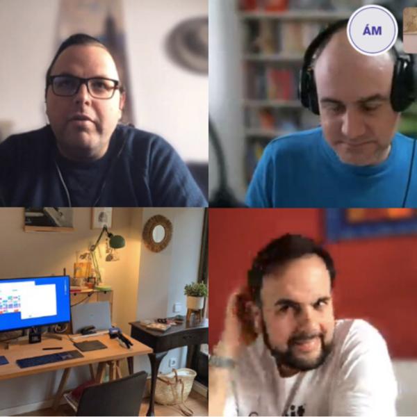 Carlos Delgado, Miquel Gabarró, James Kockelbergh, Âlex Martínez Vidal y Edu Salado.