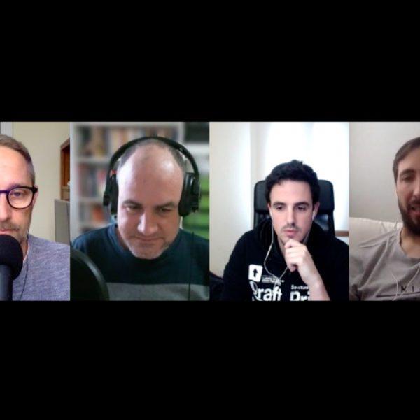 James Kockelbergh, Miquel Gabarró, Ibon Azkoitia y David Blay